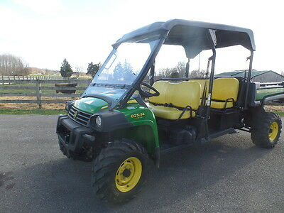 John Deere 825 S4 Double Seat Gator 2013 W/ 206 Hrs. Exc Cond!