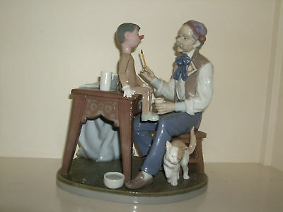 LLADRO .... Puppet Painter ..  MINT in Box  &  STUNNING