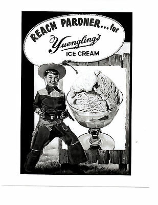 Yuengling Ice Cream Vintage Photo