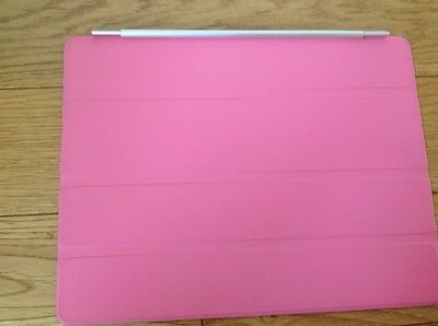 AUTHENTIC  APPLE iPad 2 3 4 Magnetic Smart Cover  PINK