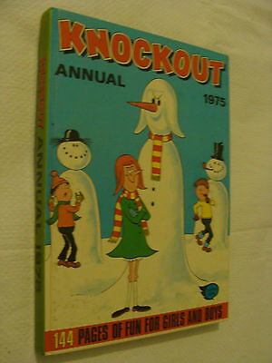 Knockout  Annual   1975