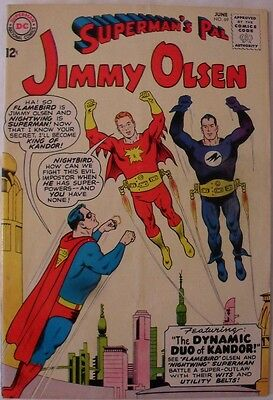 "Jimmy Olsen #69 (1963) ""The Dynamic Duo of Kandor!"""