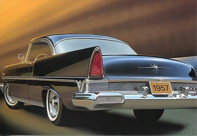 Postal Card Usps Fifties Fins & Chrome Series 1957 Lincoln Premier