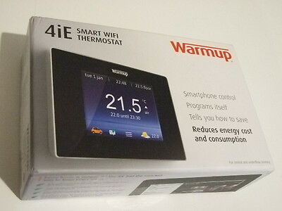 Warmup 4iE Smart Digital WiFi Thermostat