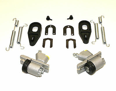 Triumph Herald 948 & 1200 1959-67 Pair Of Rear Wheel Cylinders Clips & Springs