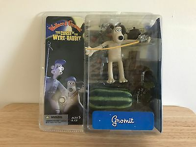 WALLACE AND GROMIT  CURSE OF THE WERE RABBIT GROMIT W/ Watermelon Figure NIP