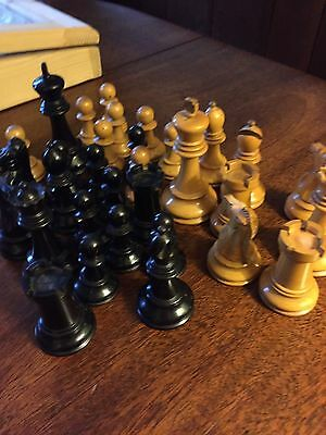 Jaques Staunton Weighted Chess. Set In Box