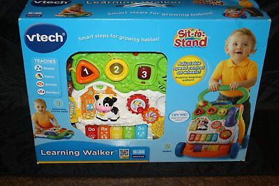 New Vtech Learning Walker Set to Stand Smart Stops for Growing Babies