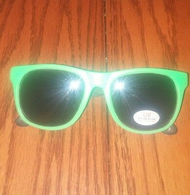Deathwish Skateboards Og 80's Green/purple Deathspray Logo Skating Sunglasses