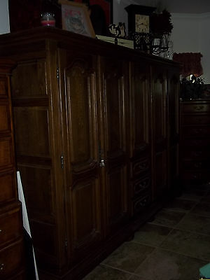 Large Oak Armoire