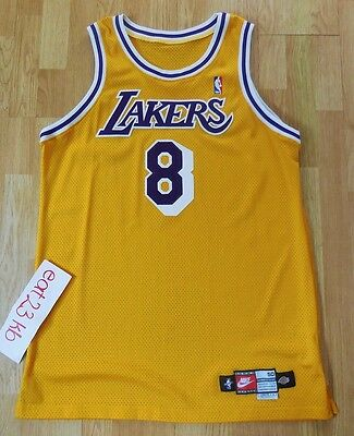 KOBE BRYANT 98 Nike game issued pro cut jersey 50+4 curry lebron jordan 8 lakers
