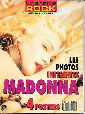 Madonna French Teenagers Magazine Rock N°9 Hors Serie + 4 Posters