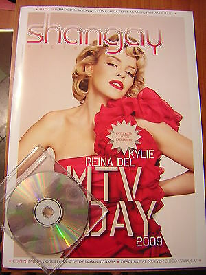 "Kylie Minogue ""reina Del Mtv Day"" / Big Size Magazine Shangay Express July 2009"