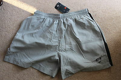 "Nike Grey Football Shorts (with inset pants liner) Size XXL (40/42"" waist) BNWT"