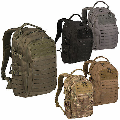 Mil-Tec Rucksack Mission Pack Laser Cut small, Molle Armee Outdoor Tagesrucksack