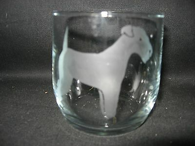 New Etched Lakeland Terrier Rocks Old Fashioned Glass Tumbler