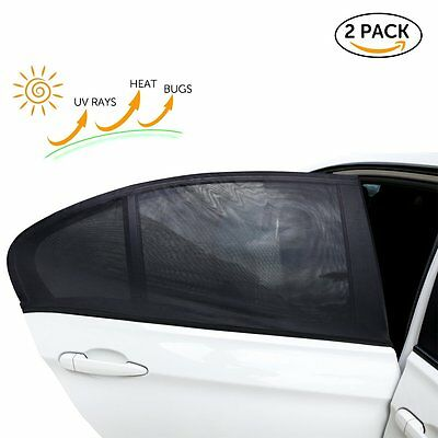 Car Rear Window UV Sun Shade Blind Kids Baby Sunshade For VW GOLF POLO BORA