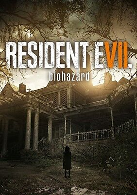 Resident Evil 7 : Biohazard VII Key - PC Game - STEAM Download Code NEW