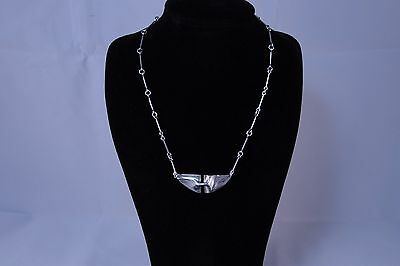 Lapponia Finland Modernist Abstract Necklace by Bjorn Weckstrom