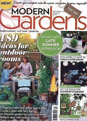 Modern Gardens Magazine - Issue 6 - September 2016