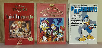 DISNEY -  Storia e gloria della dinastia dei + Tesori tre + The best of Paperino