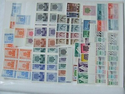 1960 Refugees Collection Of Sets, Mini Sheets, Multiples, Etc, Mnh