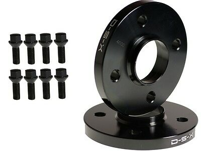 15mm BMW Wheel Spacers 4x100 57.1 cb PAIR WITH BOLTS E30 M3 NEW 318 325 is