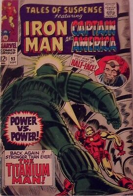 Tales of Suspense #93 (1967)  Iron Man and Captain America