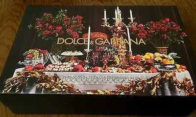 D&G Dolce and Gabbana Luxury Small Storage/ Gift box NEW
