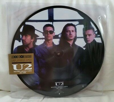 "BN RSD 2017 U2 Red Hill Mining Town 2017 Remix 12"" Picture disc 30th Joshua Tree"