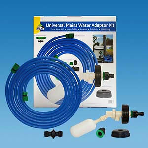 Caravan Universal Mains Water Adaptor Kit ES2013 Fit Aqua Roll/Roly Poly Hook Up