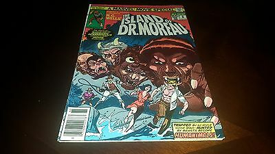 The Island of Dr. Moreau #1 (1977, Marvel) VF/VF+