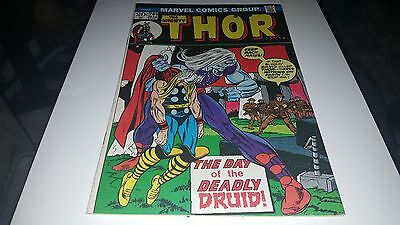 Thor #209 (Mar 1973, Marvel) VF+/NM-..1ST DEADLY DRUID!!!!!