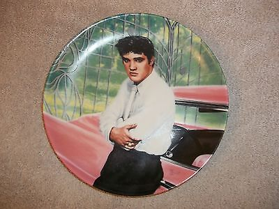 "Elvis Presley:Looking at a Legend ""Elvis at the Gates of Graceland"" Plate #214A"
