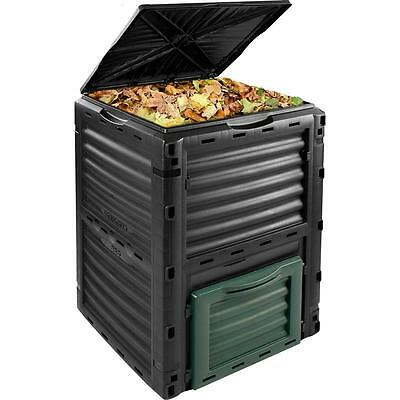 300 Litre Garden Composter Bin Waste Box Recycling Eco Compost