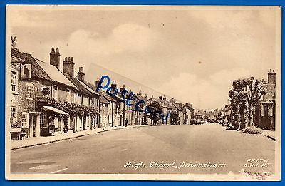Old Postcard High Street Amersham Bucks Buckinghamshire Nr Chesham Watford Tring