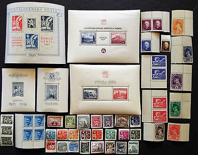 Older Mint Stamps & Souvenir Sheets From Czechoslovakia