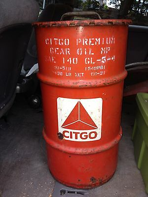 "27"" Citgo Oil Grease Drum"