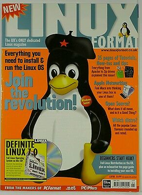 Linux Format Magazine Issue LXF01 May 2000 ***  FIRST ISSUE ***
