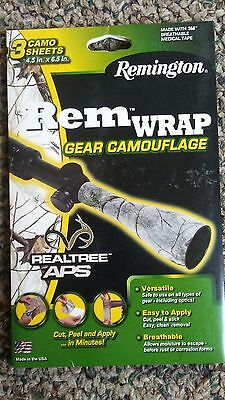 Remington Rem Wrap Gear Camouflage Camo Tape Realtree APS snow winter