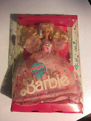 Happy Birthday Barbie - vintage, new in box from 1990