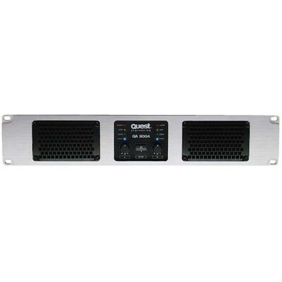 Quest QA3004 Stereo Power Amp 2 x 1100W @ 4 ohm - EX DEMO with 12 Month Warranty