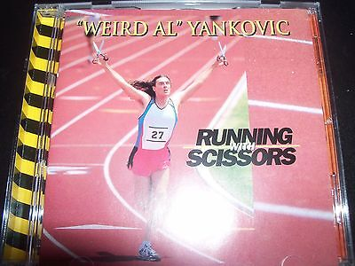 Running with Scissors by Weird Al Yankovic – Comedy CD – Like New
