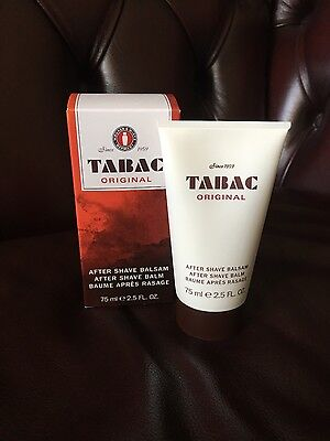 Tabac Original After Shave Balm 75Ml Soothes And Relaxes Men's Skin