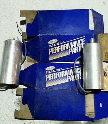 Carrier Transicold Run Capacitor Lot 2 Free Ship CAN and USA 400 Volts AC 40MF
