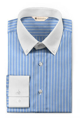 Perfect Fit Guarantee - Mens Tailored Shirt If You Don't Love It Send It Back!