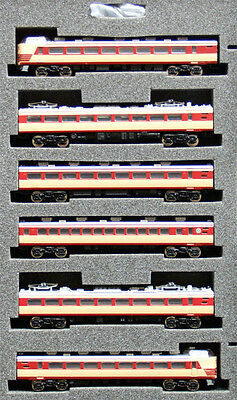 Z Scale JR 485 Express Normal Color 6 cars - PlusUp