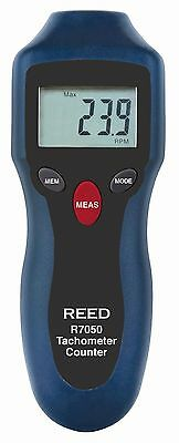REED Instruments R7050 Compact Photo Tachometer and Counter Standard