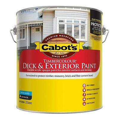 Cabbots By Dulux 2 Litre Timbercolor Exterior Low/sheen Green Colour Paint