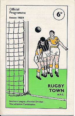 Rugby Town v Hereford (Southern League Cup) 1963/4